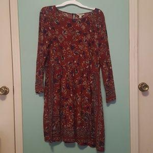 Lucky Brand Floral Print Dress